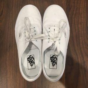 Vans Sneakers (White, Women's 8)